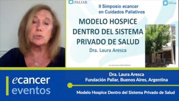 Modelo Hospice Dentro del Sistema Privado de Salud ( Dra. Laura Aresca - Fundación Paliar, Buenos Aires, Argentina )