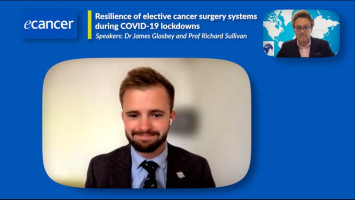 Resilience of elective cancer surgery systems during COVID-19 lockdowns ( Dr James Glasbey and Prof Richard Sullivan )