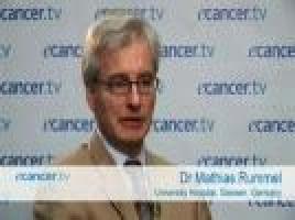 Studies comparing treatments for lymphoma ( Dr Mathias Rummel - University Hospital, Giessen, Germany )