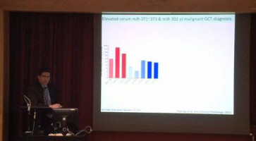 miR 371-373 and miR 302 cluster expression in body fluids as potential biomarkers of malignant germ cell tumours ( Dr Matthew Murray - Cambridge Cancer Centre, UK )