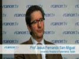 ASH 2009: Oral panobinostat and bortezomib for relapsed multiple myeloma ( Prof Jesus Fernando San-Miguel - University Hospital of Salamanca, Spain )