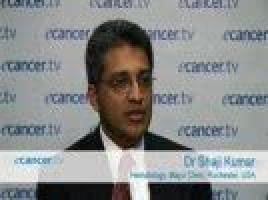 ASH 2009: Novel agents for multiple myeloma ( Dr Shaji Kumar - Hematology, Mayo Clinic, Rochester, USA )