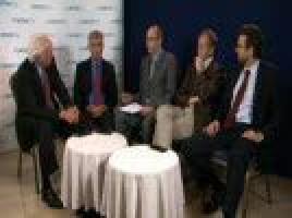 EHA 2010: Experts discuss treatment of elderly cancer patients ( Prof Gordon McVie, Prof Richard Sullivan, Prof Reinhard Stauder, Prof Mario Boccadoro, Prof Pierre Fenaux )