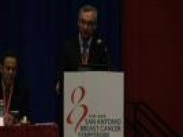 Combination therapy reduced HER2-positive breast cancers ( Prof José Baselga - Massachusetts General Hospital Cancer Center, USA )