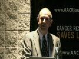 Serum test could identify lung cancer in people who never smoked ( Dr Charlie Birse - Celera Corporation, California, USA )